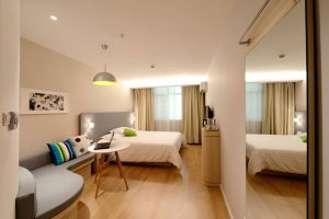 chambre d'hotel modulaire